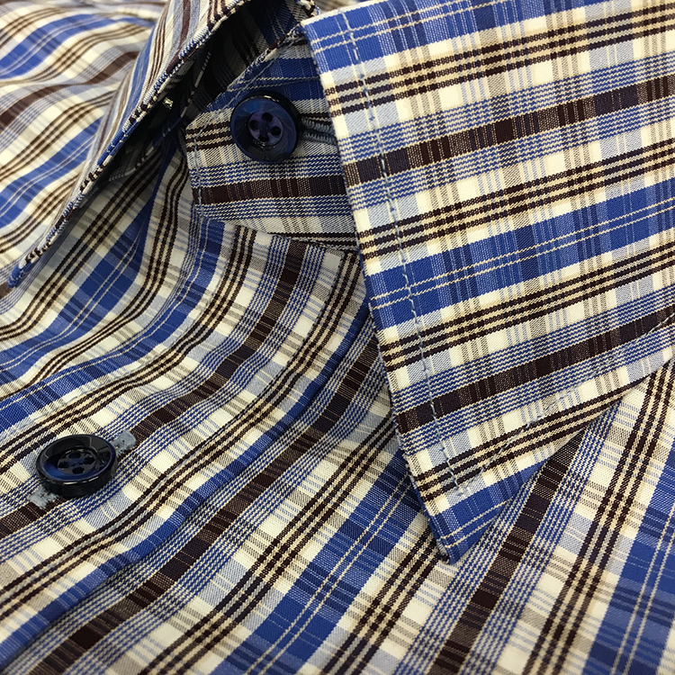 Egyptian Cotton plaid for a custom shirt