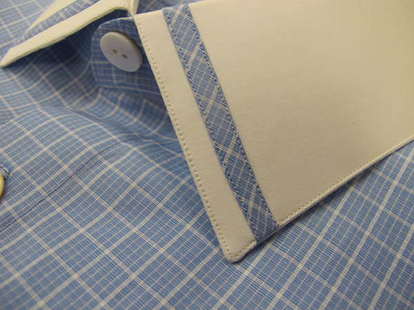 70% Cotton / 30% Linen shirting fabric by Loro Piana - great texture and feel.