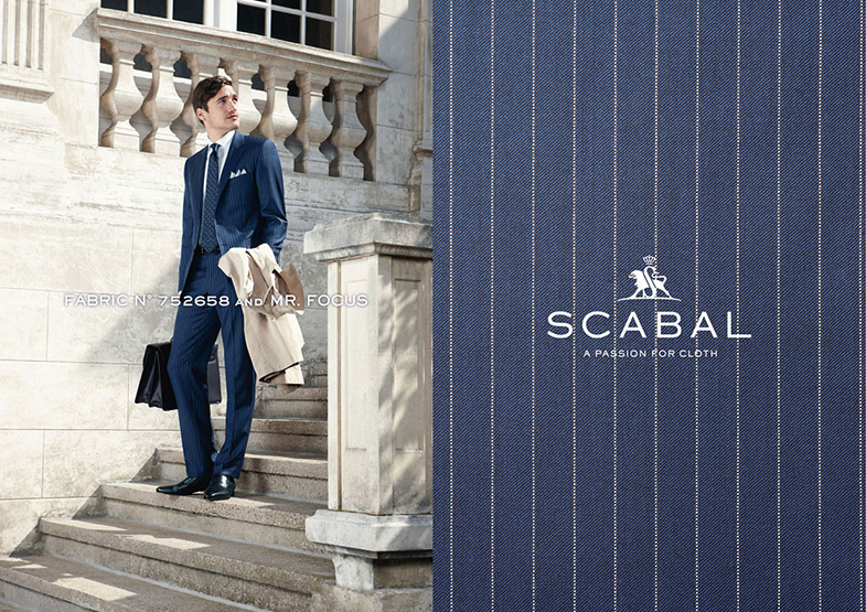 Scabal Featured Styles for Spring/Summer at Mr. Alex Beverly Hills