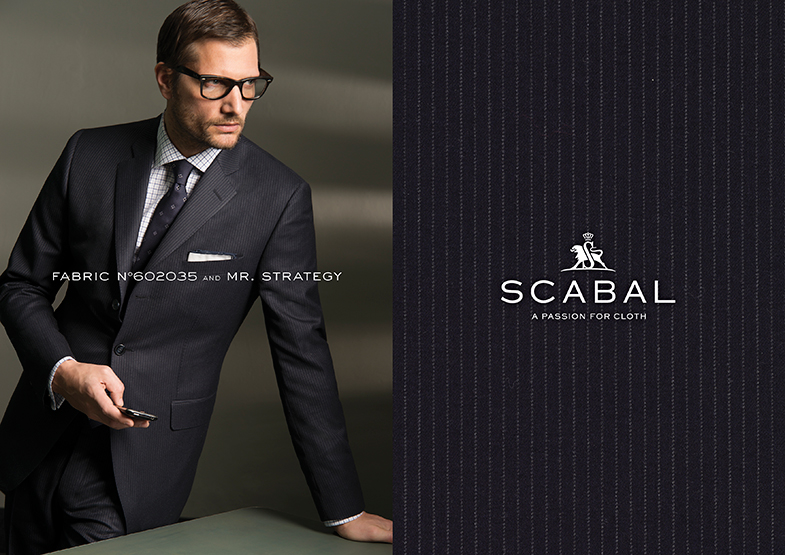 Scabal Featured Styles for Fall/Winter at Mr. Alex Beverly Hills