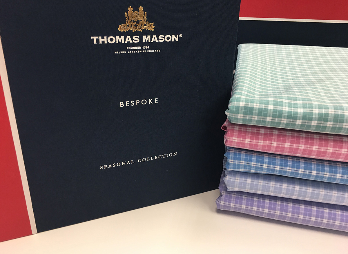 Thomas Mason Egyptian Cotton for Custom Shirts at Mr. Alex Beverly Hills